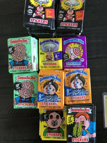 Garbage Pail Kids Original Series Unopened Packs