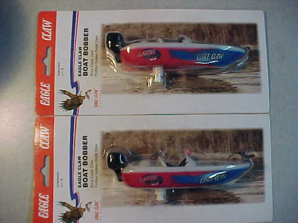 2 NEW BOAT FISHING SPRING BOBBER FLOATS EAGLE CLAW