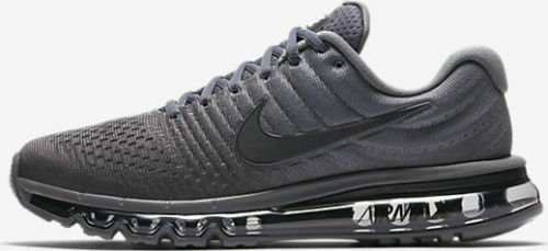 Nike Air Max 2017 Men's Running Lifestyle Shoes 849559 008 Cool Grey, Anthracite