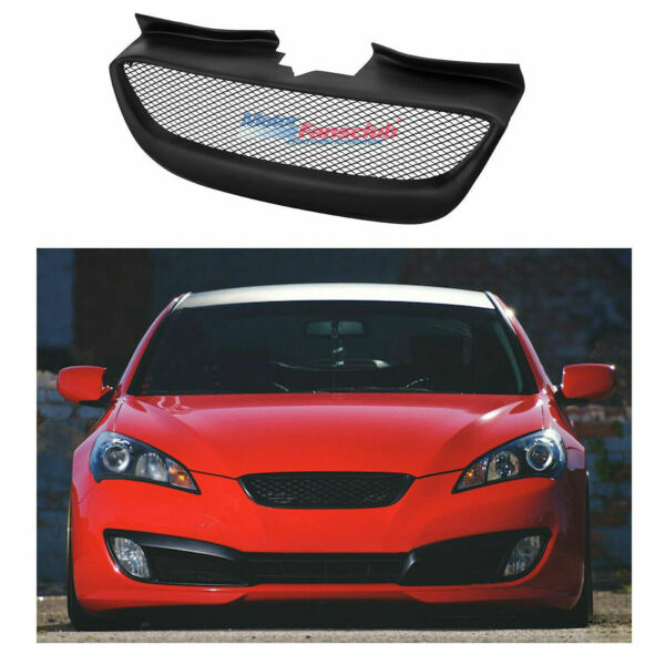 Front Bumper Mesh Grille Grill For Hyundai Genesis Coupe 2009 2010 2011 2012