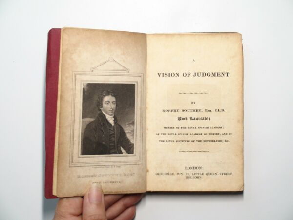 Early Anthology of Poetry Southey Byron Hornem et. al RARE c1820s
