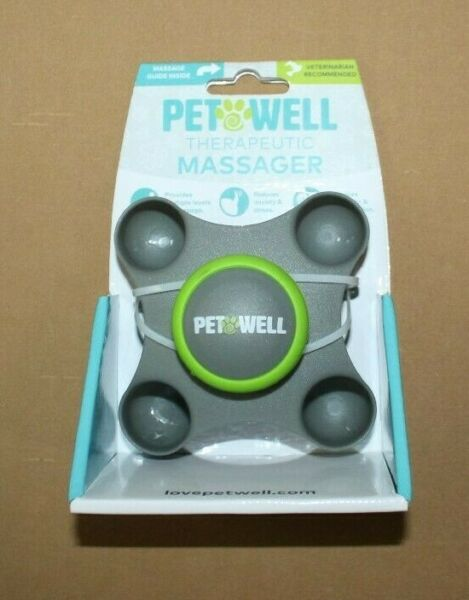 PET WELL Therapeutic Dog Cat Massager $8.99
