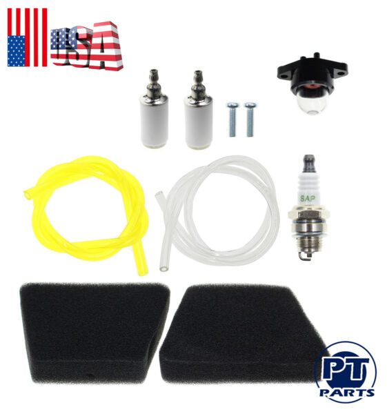 Air Fuel Filter F Craftsman 1950  Poulan Chainsaw Rep Gas Saw Fuel Line Kit For