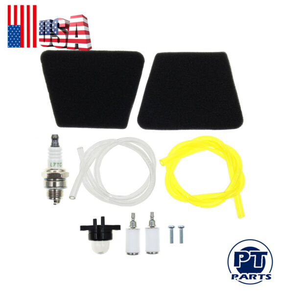 Air Fuel Filter F Craftsman 2150 Poulan Chainsaw Rep Gas Saw Fuel Line Kit For
