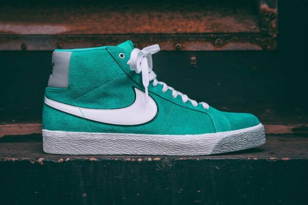 Nike SB Zoom Blazer QS HYPER JADE TEAL SUEDE DUNK DIAMOND SUPPLY CO 819861-310