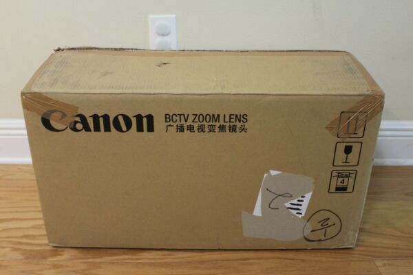 Canon HJ40eX10B IASE-V H HD 23'' B4 mount lens *BRAND NEW IN BOX* COMPLETE SET