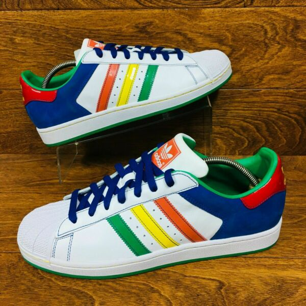 *NEW* Adidas Superstar II CB (Men Size 11) Athletic Shell Toe Sneaker Multicolor