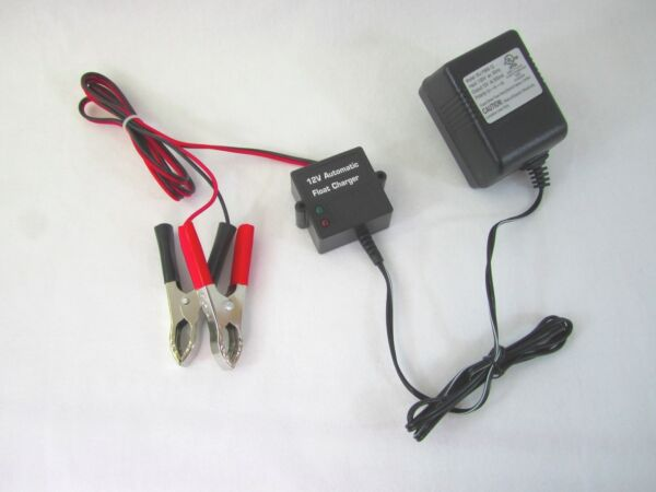 Automatic Battery Float Charger 12Volt Trickle Car Boat Motorcycle Charger#12940