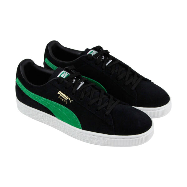 Puma Suede Classic X Xlarge Mens Black Suede Low Top Lace Up Sneakers Shoes