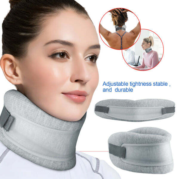 Neck Support Cervical Traction Device Therapy Collar Soft Foam Brace Pain Relief
