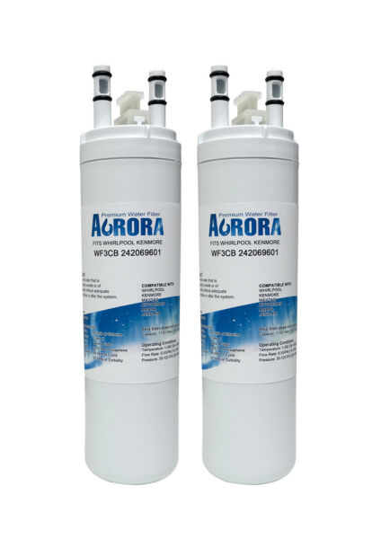 Refrigerator Water Filter Fits  PureSource 3 WF3CB - 2 packs