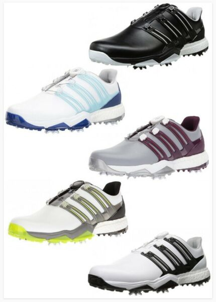 **New** Adidas Powerband BOA Boost Golf Shoes - Pick Size/Color