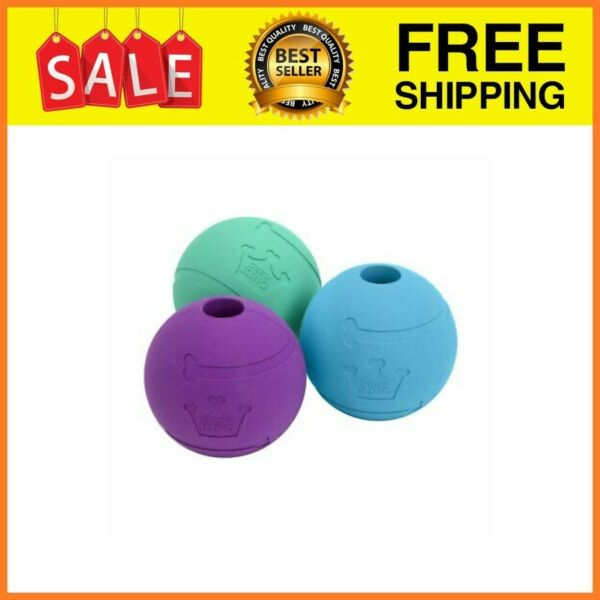 Chew King Fetch Balls Extremely Durable Natural Rubber Dog Ball Toy 3