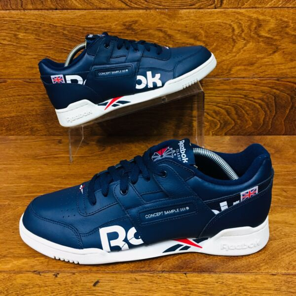 *NEW* Reebok Classic Alter The Icons Mens Athletic Shoes Navy Blue All Sizes