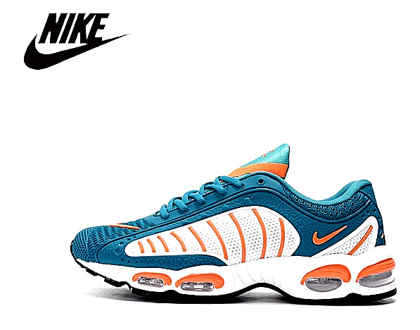 Nike Air Max Tailwind 4 Running Shoes for Men White / Blue / Orange