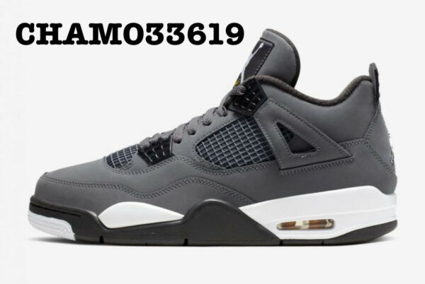 Nike Air Jordan Retro 4 IV  2019 Cool Grey -All Sizes - With Receipt 308497-007