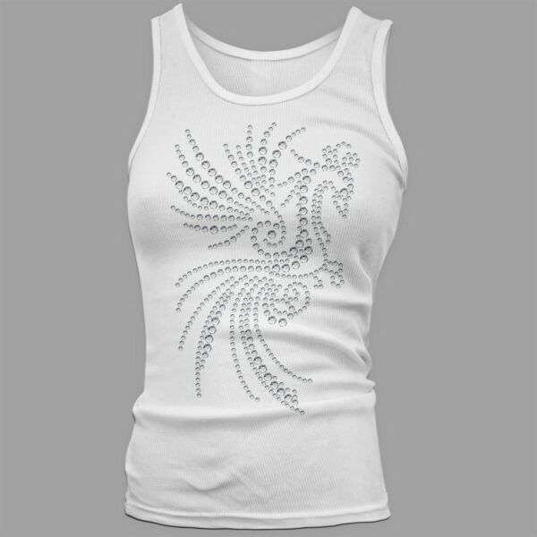 Twisted Envy Women#x27;s Phoenix Rhinestone Tank Top