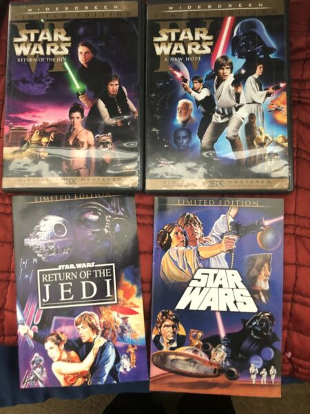 Star Wars Limited Edition DVD 2006 Theatrical IV VI LOT Plus Entire Series