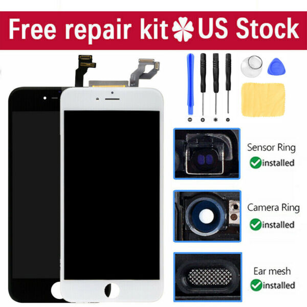 For iPhone 6 6s 7 8 Plus LCD Display Assembly Digitizer Touch Screen Replacement $18.99
