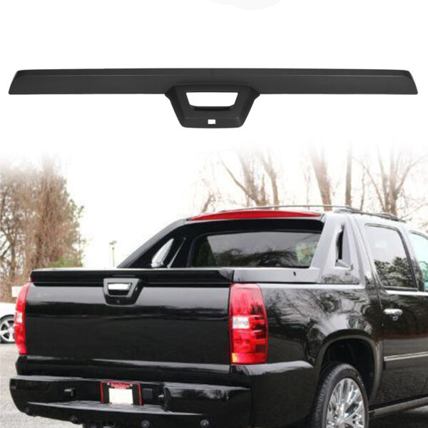 Rear Tailgate Spoiler Molding Trim Fit 2007 13 Chevy Cadillac Avalanche Escalade $100.39