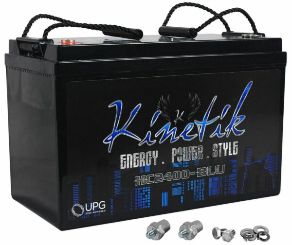 Kinetik HC2400 BLU 2400 Watt Car Battery Power Cell Audio System 12 Volt HC2400 $269.95