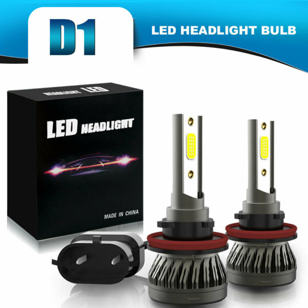 H11 DRL LED Headlight Kit 2Bulbs Plug&Play Low Beam for Dodge RAM 1500 2009-2019