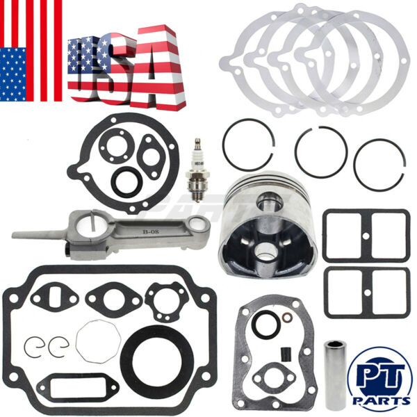 New Rebuild Kit For Kohler K181 Repair your John Deere Cub Cadet 8 HP Engine.