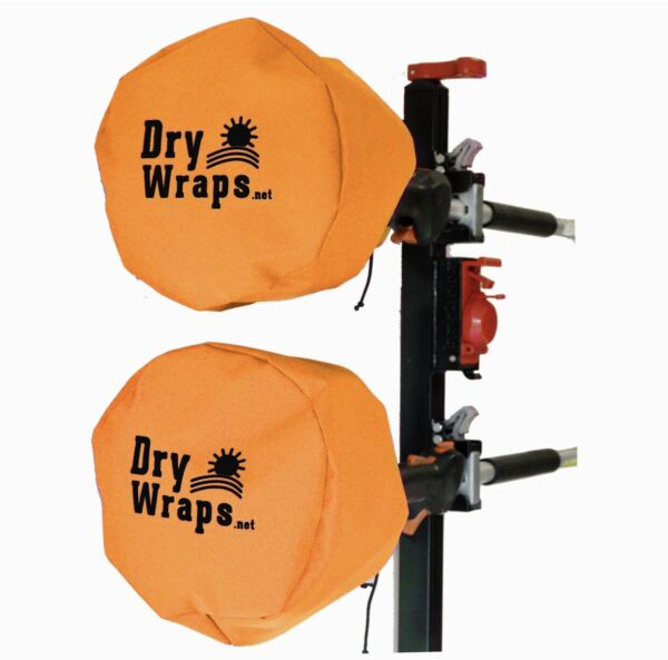Trimmer Engine Cover ORANGE AUTHENTIC DryWraps COVERS 100% Waterproof $26.99
