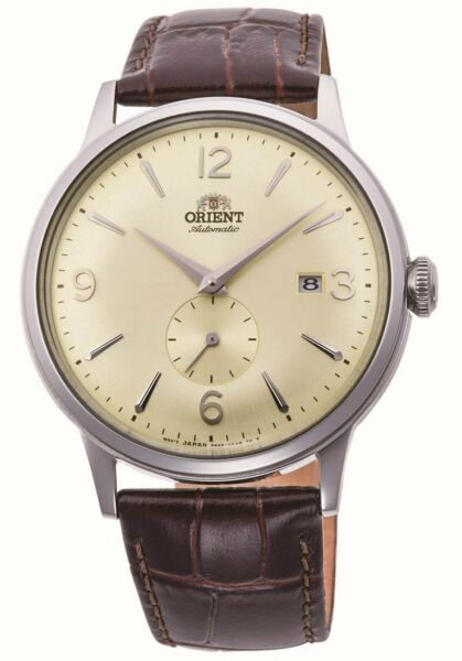 Orient RA-AP0003S Bambino Small Seconds Automatic White Dial Brown Leather Watch