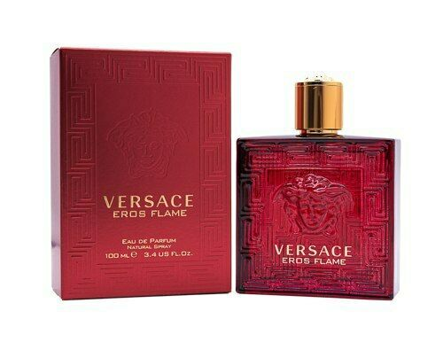 Versace Eros Flame by Versace 3.4 oz EDP Cologne for Men New In Box