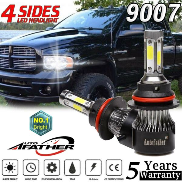 9007 LED Headlight Kit for Dodge Ram 1500 2500 3500 2003-2005 Hi-Low 232500LM