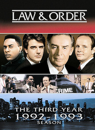 Law and Order - The Third Year (1992-1993 Season) ~ Dick Wolf [Producer] DVD