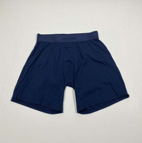 Tommy John Light Air Relaxed Fit Boxer Dress Blue Size Small