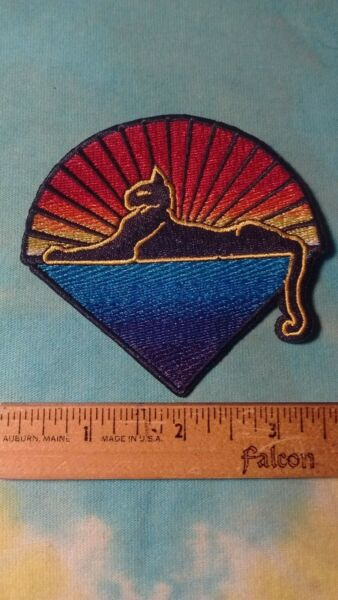 Grateful Dead Jerry Garcia Cats Under The Stars 3.25 Inch Iron On Patch