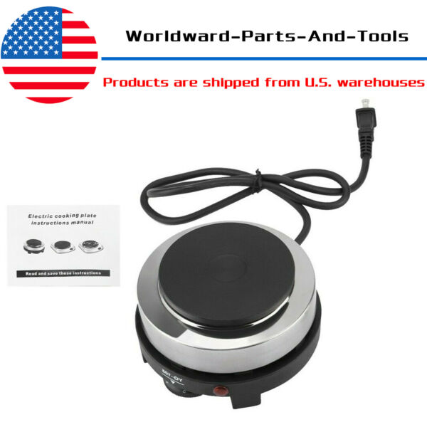 Portable Electric Mini Stove Hot Plate Multifunction Home Heater DIY 110V 500W