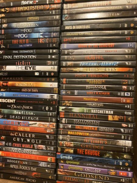 Horror DVD Lot. You Choose The Movies. Read The Description!