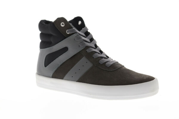 Creative Recreation Moretti CR3250014 Mens Gray Casual High Top Sneakers Shoes