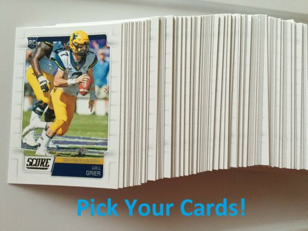2019 Panini Score Football - Pick your cards! You choose! Rookies!