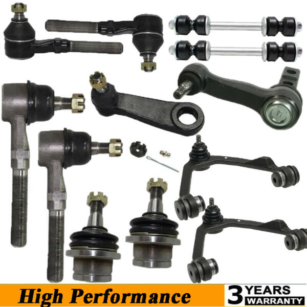 12 Pcs Front Control Arms Complete Kit Suspension For FORD F150 1997 2003 4WD