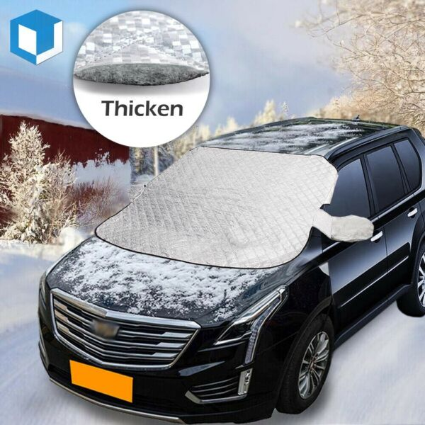 Car Windshield Cover Protector Winter Snow Ice Rain Dust Frost Guard Sun Shade