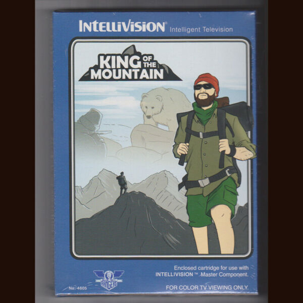 King of the Mountain for Intellivision. BSR edition NIS $59.99