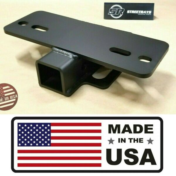 SR HEAVY DUTY 5000 lbs Step Bumper Mount Mounting 2quot; Hitch Receiver RV Trailer $42.95
