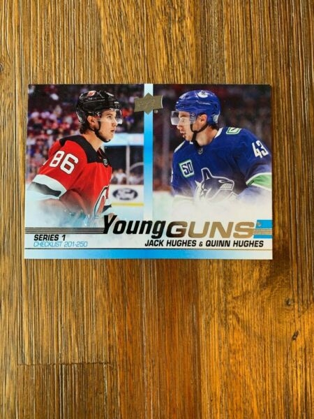 2019-20 UPPER DECK SERIES ONE YOUNG GUNS ROOKIE U-PICK FROM LIST FREE SHIP US