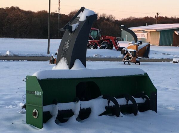 NEW WOODS SS84 HD SNOW BLOWER 3-POINT 540 PTO 84