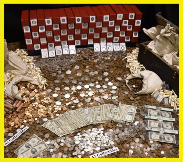OLD ESTATE SALE US RARE COINS BULLION .999 SILVER GOLD COLLECTION MIXED LOT 🇺🇸