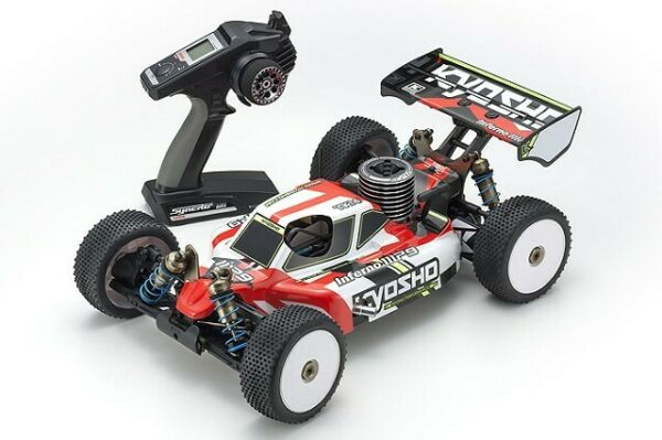 Kyosho - Inferno MP9 TKI4 Readyset 18 Scale Nitro 4WD Buggy