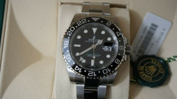 Rolex GMT-Master II 116710 Wrist Watch for Men New  Un Worn still in plastic