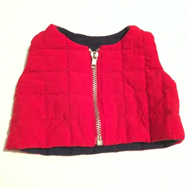 American Girl Doll Girl of Today Red Urban Vest A33 09 $15.99
