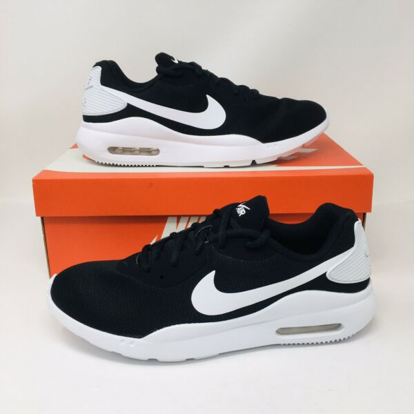 *NEW* Nike Air Max Oketo Men's Athletic Running Sneakers Black White Shoes