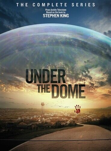 UNDER THE DOME COMPLETE SERIES New Sealed 12 DVD Set Seasons 1 2 3